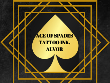 ACE OF SPADES TATTOO INK