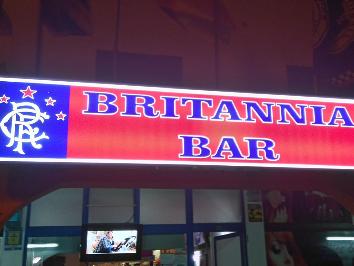 BRITANNIA RANGERS BAR