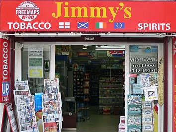 Jimmy's Wholesale Tobacco & Spirit Shop