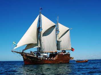 Pirate Ship Santa Bernarda